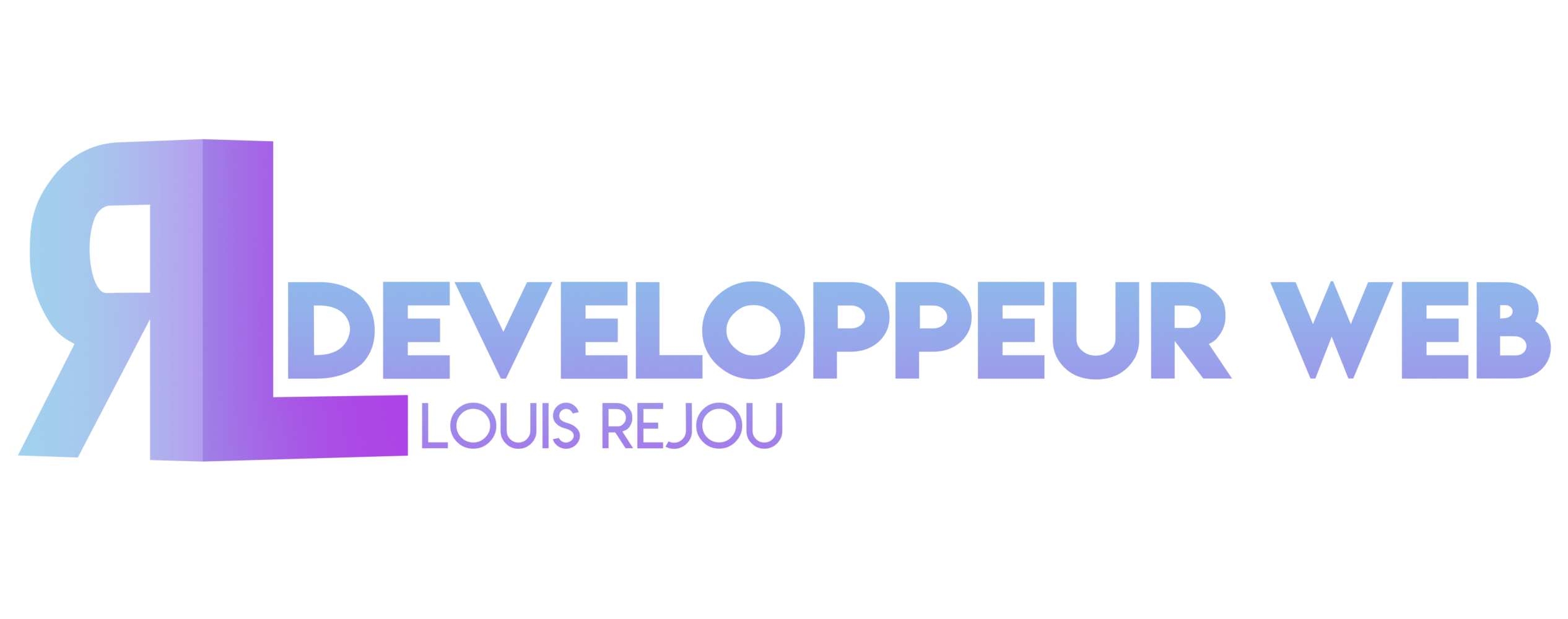 logo : Louis Réjou developpeur web
